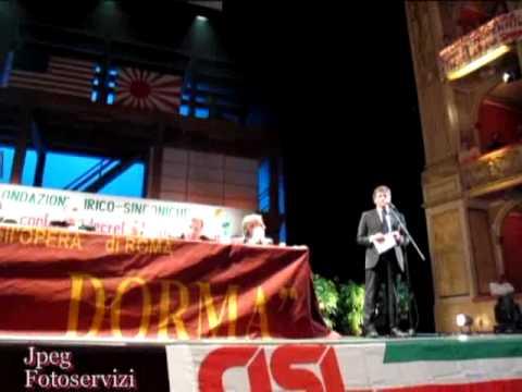 Fracci insulta Alemanno, farabutto, distruggi l'Opera