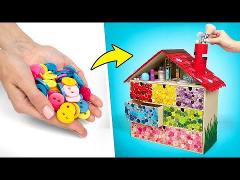 How To Turn IKEA Chest Of Drawers Into A Cute House For Make Up 🏡💄