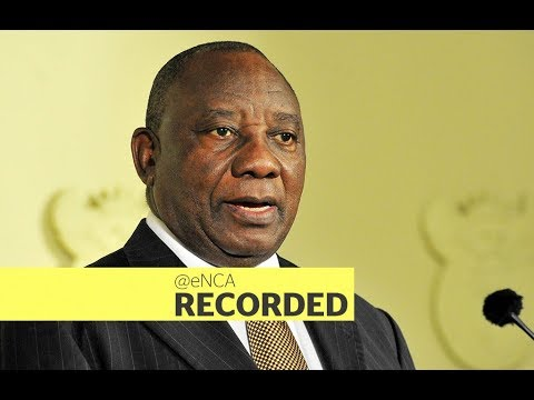 President Cyril Ramaphosa Speaks At The Mining Indaba