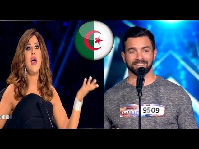 الجزائري حفيظ سور الذي أدهش لجنة التحكيم بمستوى عالمي في Arabs got talent