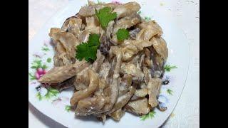 ✔ЖаренныЕ ГрибЫ по нашему на НОВОГОДНИЙ СТОЛ !👌fried mushrooms !!!
