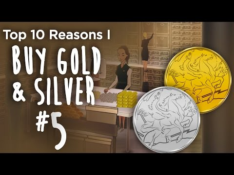 Top 10 Reasons I Buy Gold & Silver (#5) - The Market Psychology Of Greed & Fear
