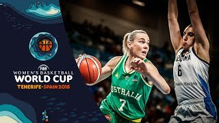 Argentina v Australia - Highlights - FIBA Women