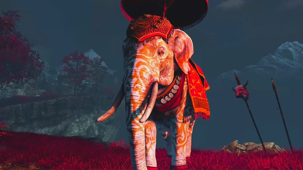 Far Cry 4 Wallpaper Elephant: Far Cry 4 Shangri La Mission 4 The Paradise Destroyed