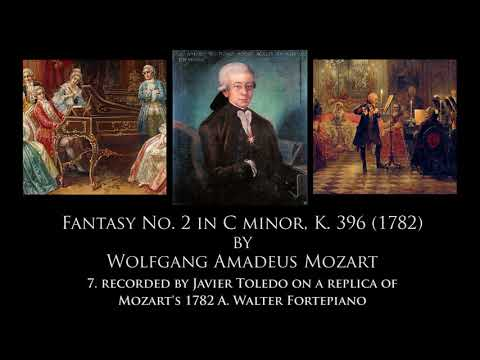 Music Through Time: Recordings of Mozart's Fantasy in C Minor K. 396