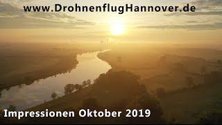 Drohnenflug Hannover   Drohnen Impressionen Oktober 2019