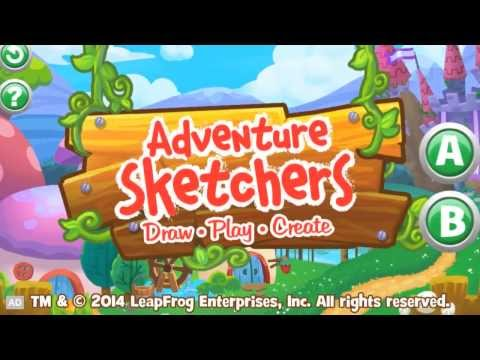 LeapFrog Game Trailer: Adventure Sketchers Draw Play Create!