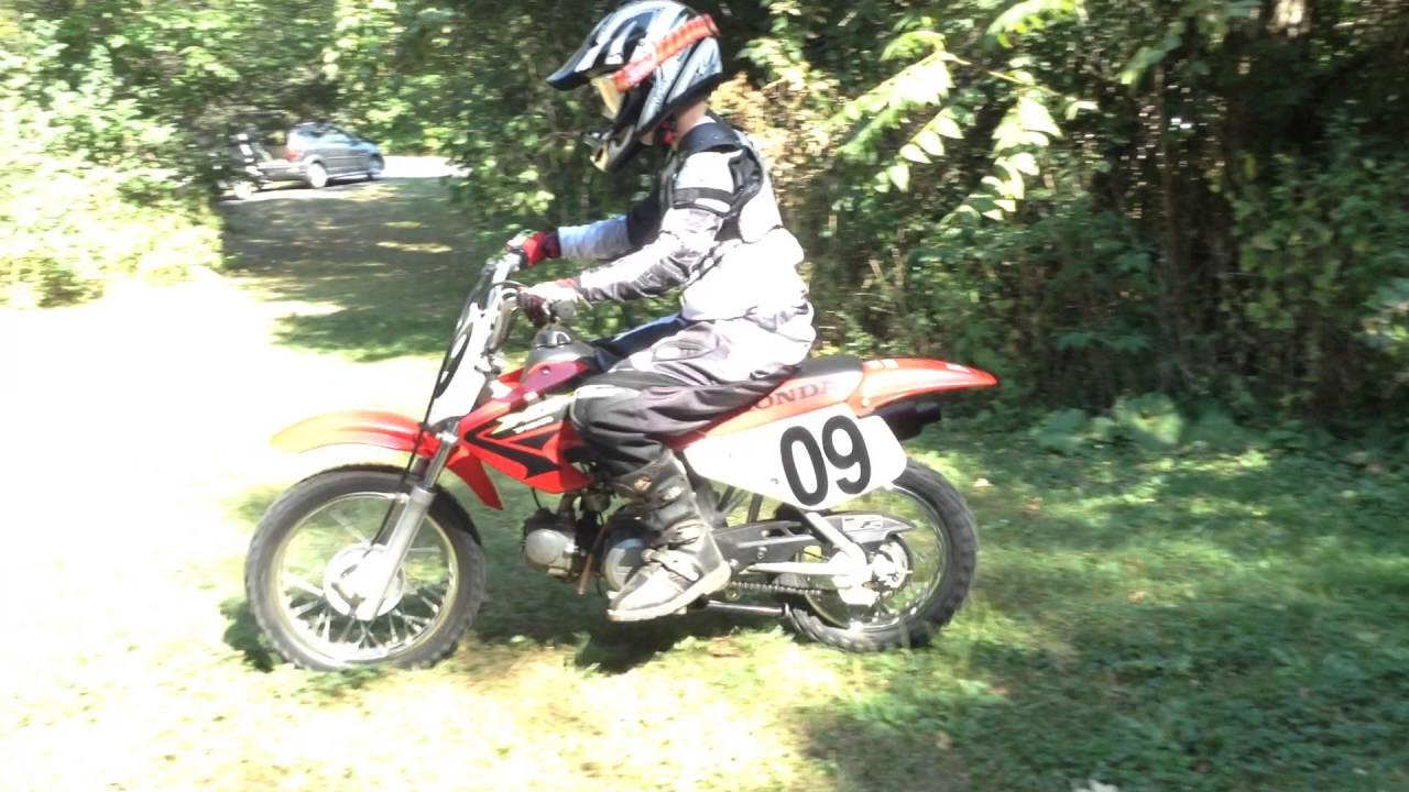 2003 Honda XR70 Ride - YouTube