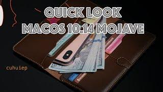 Dùng thử Quick Look trên macOS 10.14 Mojave