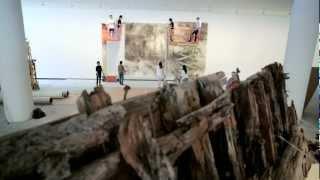 Cai Guo-Qiang - Creation of 'A Clan of Boats' - Faurschou Foundation, Copenhagen