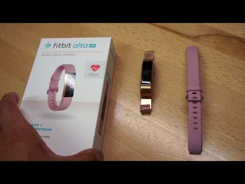Review of the Fitbit Alta HR