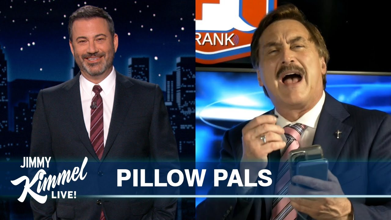 """Download MyPillow Mike Reacts to Jimmy Kimmel's Monologue & We Play """"Who's High?"""""""
