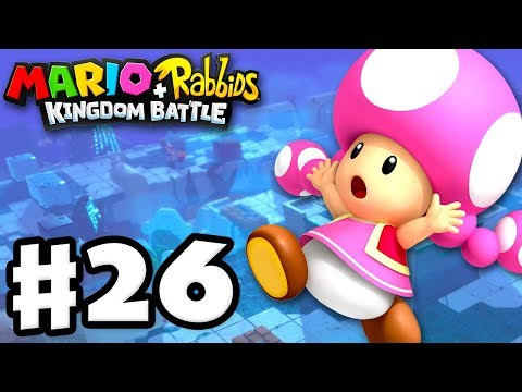Mario + Rabbids Kingdom Battle - Gameplay Walkthrough Part 26 - World 3 100% Complete!
