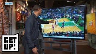 Jalen Rose breaks down film of Celtics' Game 1 win over 76ers | Get Up! | ESPN