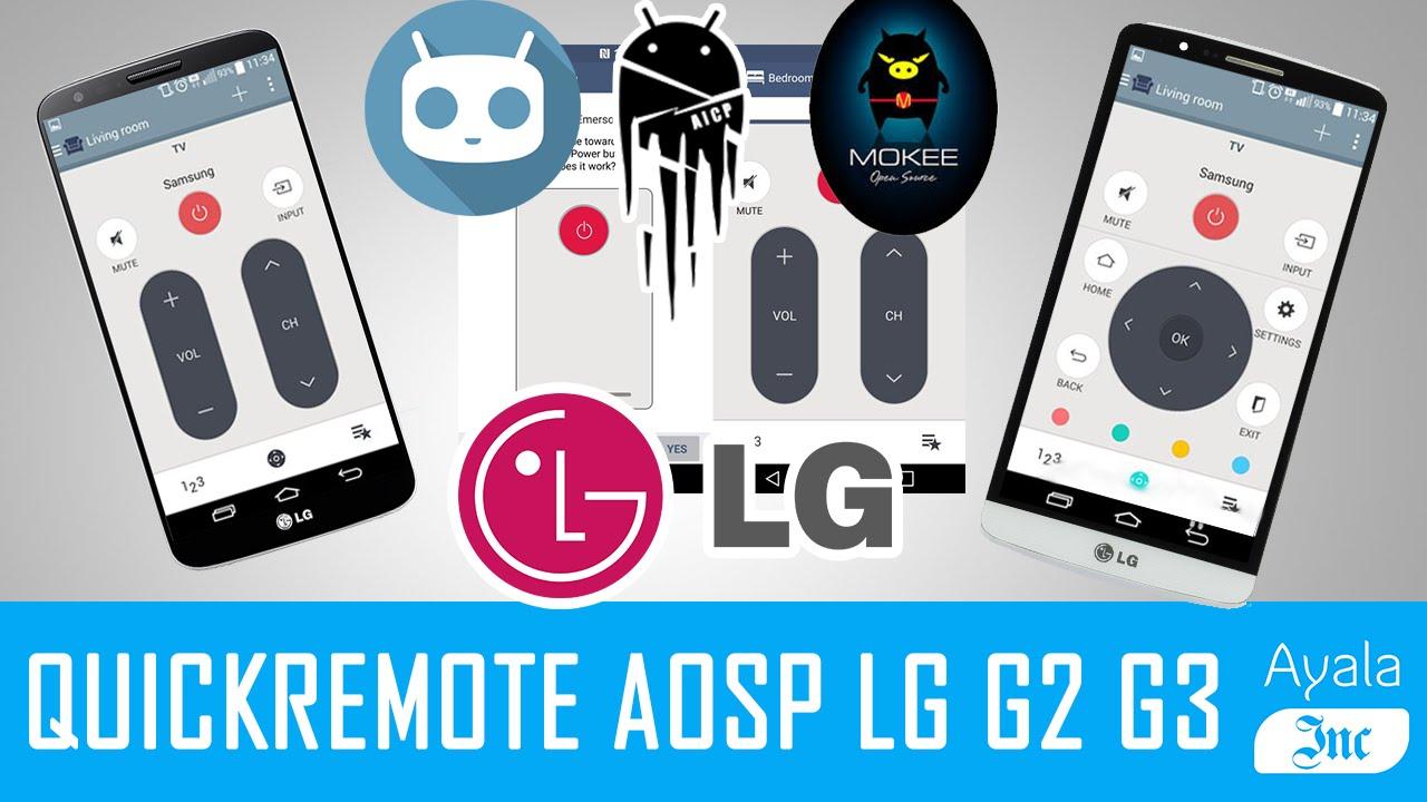 descargar quick remote lg g3