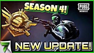 NEW UPDATE IS HERE! Where is SEASON 4?! | PUBG MOBILE