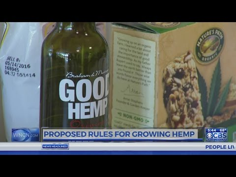 Proposed rules for growing hemp