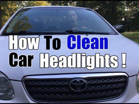 How To Clean Headlights | Simple DIY Restoration