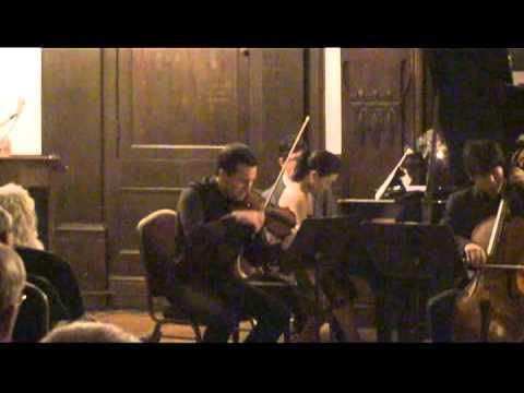 Alex Dzyubinsky - Beethoven Piano Trio No1 Op1 - II. Adagio Cantabile
