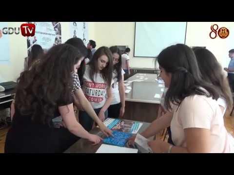Ganja State University, Azerbaijan campus tour