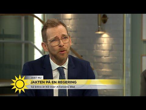 """Jakob Forssmed (KD): """"Det är en stor besvikelse"""" - Nyhetsmorgon (TV4)"""