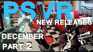 PSVR Releases December 2017 | Part 2 | 5 new games