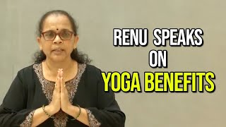 Renu Speaks on Yoga Benefits Hindi