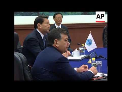 Leaders of Shanghai Cooperation Organisation nations meet