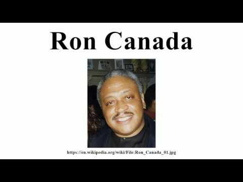 Ron Canada