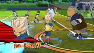Inazuma Eleven Go Strikers 2013 Raimon Vs Zeus Wii 1080p (Dolphin/Gameplay)