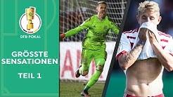Die größten Sensationen im DFB-Pokal | Teil 1