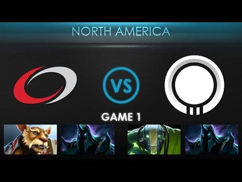 compLexity vs Team Onyx Game 1 - Kiev Major NA Qualifier: Playoffs - @DakotaCox @LacosteDota