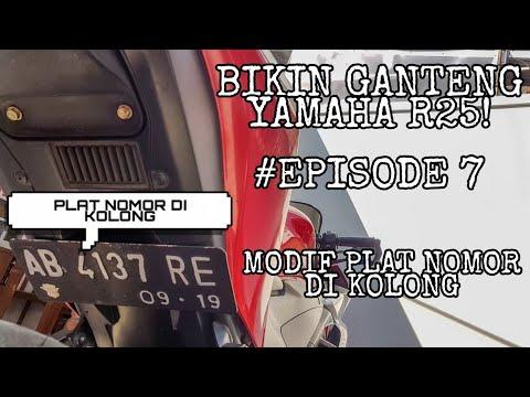 #vlog-10-:-modif-r25!-|-tutorial-pasang-plat-nomor-di-kolong-fender-|-yamaha-r25-2014-indonesia
