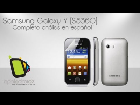 Samsung Galaxy Y Completo Review