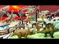 Welcome to Jurassic World 2 Fallen Kingdom Park. Learn Dinosaur with Dinosaur Toys~ T.Rex, Blue