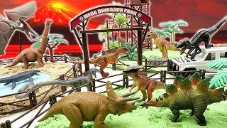 Welcome to Jurassic World 2 Fallen Kingdom Park. Learn Dinosaur with Dinosaur Toys~ T.Rex, Blue