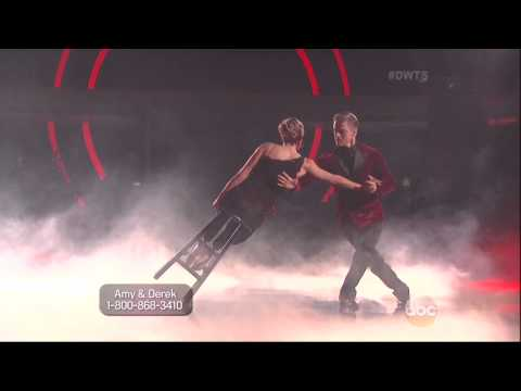 Derek Hough & Amy Purdy dancing Argentine Tango on DWTS 5 5 14