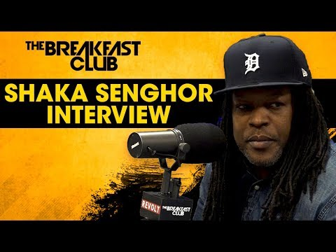 Shaka Senghor Discusses Incarceration And How He Connected With Oprah To Tell His Story