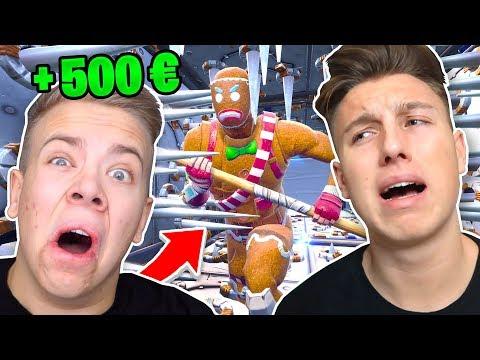 500€ DEATHRUN vs AVIVEHD in Fortnite Battle Royale !