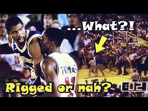 Did The Detroit Pistons Get ROBBED Of The 1988 Championship? (Game 7 ending)