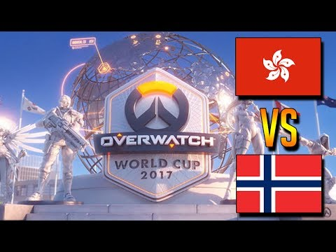 Overwatch World Cup 2017 - Norway VS HongKong Part 1