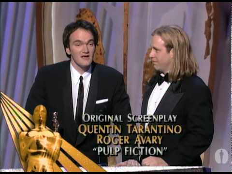 Pulp Fiction Wins Original Screenplay: 1995 Oscars