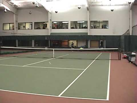 Peter Gibson- NCAA Tennis Recruiting Video