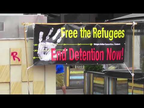 Radio Graham - Canberra's Refugee Rally 2017
