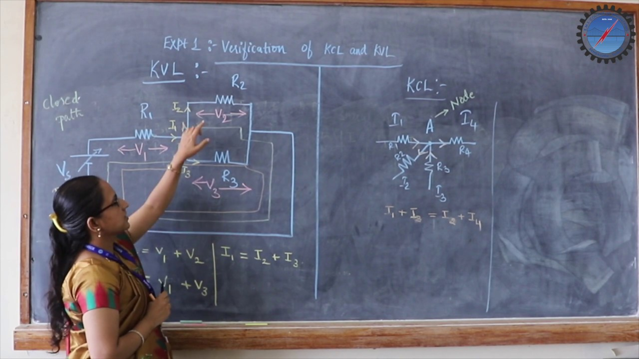 Verification of KCL & KVL for DC circuit - YouTube
