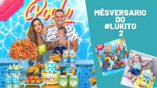 Influencer Stores - Mêsversario de 2 meses do Lukito (Evelyn Regly)