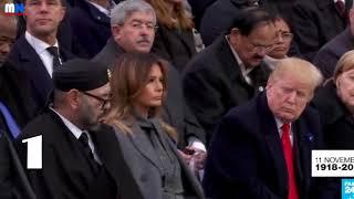 Trump Kijkt Hoe De Koning Van Marokko In Slaap Valt