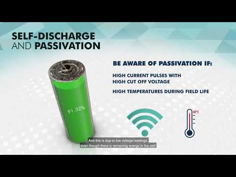 Battery self-discharge and passivation in an IoT application - motion design part 4
