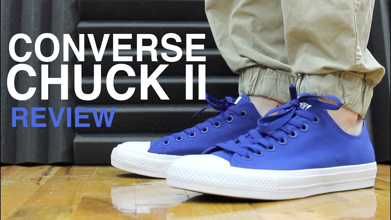 CONVERSE CHUCK TAYLOR 2 II REVIEW AND UNBOXING - YouTube 0f6662f7c