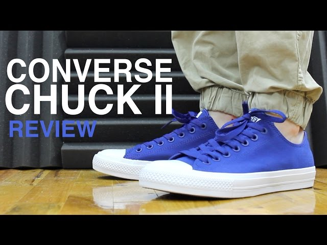 CONVERSE CHUCK TAYLOR 2 II REVIEW AND UNBOXING YouTube